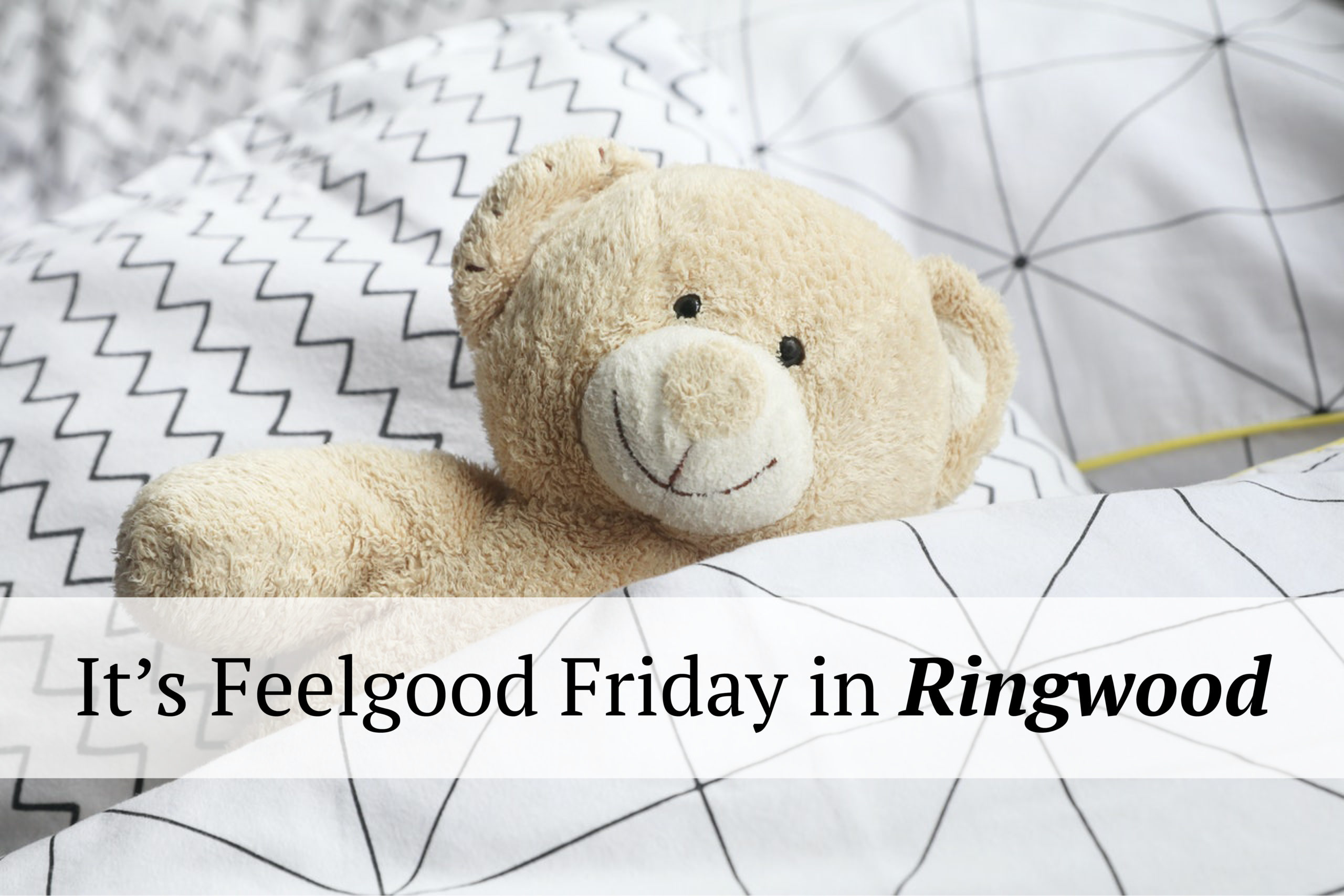 It's Feelgood Friday in Ringwood