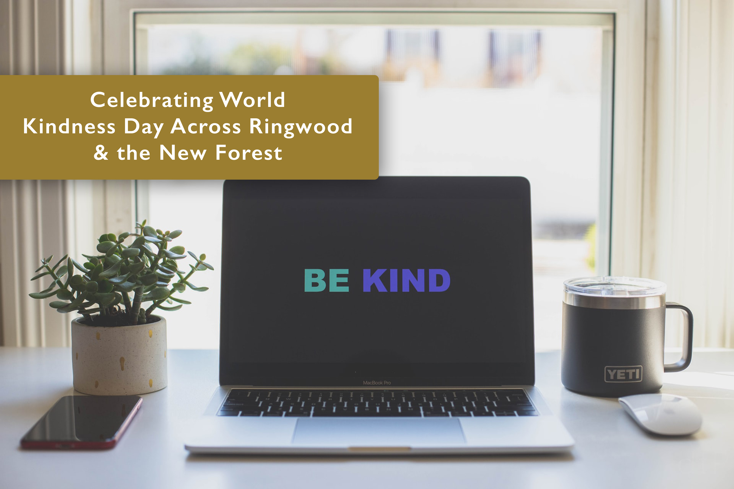 Celebrating World Kindness Day Across Ringwood & the New Forest